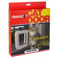 Transcat Cat Door White