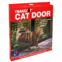 Transcat Cat Door Clear