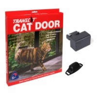 Transcat Selective Entry Cat Door - Black Magnet Level 1- Thank you for your support of a NZ business. Please be aware that there may be delays in delivery.